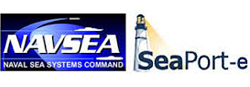 NAVSEA Seaport-e logo